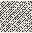 black and white irregular rounded dashed lines vector image