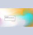 blurred abstract blue and yellow backgrounds vector image