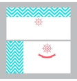 Business card template in nautical marine style vector image vector image