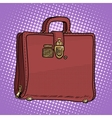 Case leather bag business businessman style vector image vector image