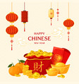 chinese new year set vector image vector image