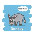 Donkey vector image vector image