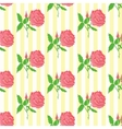 Floral seamless pattern Background of roses vector image vector image