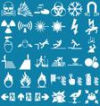 Hazard and danger Graphics vector image vector image