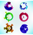 abstract element vector image vector image