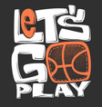 basketball t-shirt graphics print design vector image vector image