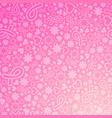 breast cancer awareness month background vector image vector image