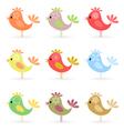 cheerful birdies