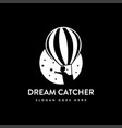 dream catcher logo icon vector image vector image