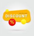 gold discount only this week special offer vector image vector image