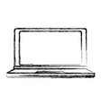 latop pc technology vector image vector image