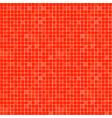 simple repeated pattern bright orange resquare vector image