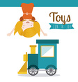 Toys design vector image vector image