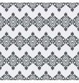 seamless pattern Monochrome graphic design vector image