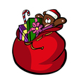 A present pack is placed vector image vector image