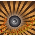 MusicTreble clef and notes for your design vector image vector image