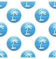 Palm tree sign pattern vector image vector image