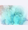 pastel gradient blue paint with gold foil marble vector image vector image