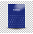 poster flyer pamphlet brochure cover design vector image vector image