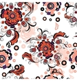Seamless abstract floral pattern 3 vector image vector image