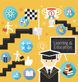 Student Success Learning Education Concept vector image vector image
