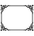 vintage borders and frames vector image