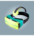 Virtual reality glasses image Virtual reality vector image vector image