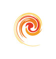 spiral - a symbol of perpetual motion vector image