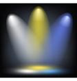 lighting background vector image
