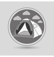 camping equipment design vector image