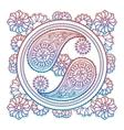 Colorful stylish yin-yang sign vector image