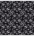 seamless background black and white vector image vector image