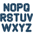 sketched alphabet NZ vector image
