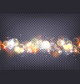 soft bokeh and lights background transparent vector image vector image