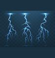 Thunder bolt and lightnings thunderstorm