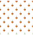 Whirligig pattern cartoon style vector image vector image