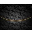 Black Luxury Background vector image vector image