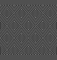 geometric abstract pattern seamless background vector image vector image
