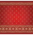 Indian background pattern vector image vector image