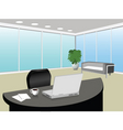 modern office vector image vector image