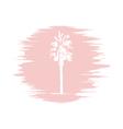 palm logo quartz vector image vector image
