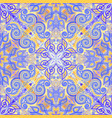 seamless pattern ornament geometric mandala vector image