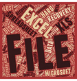Recover Deleted Excel Spreadsheets text background
