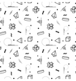 abstract memphis pattern vector image