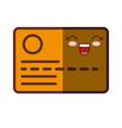 card id icon vector image vector image