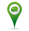 location caravan icon vector image