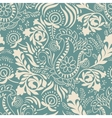 Paisley background in two colors vector image vector image