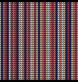 seamless violet vertical lines knitting pattern vector image vector image