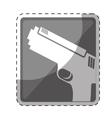 single gun icon image vector image vector image