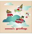Christmas Scrap Elements Set vector image